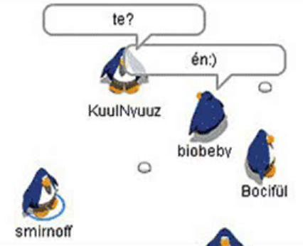 penguin chat Penguin chat 1, 2 and 3 are all older versions of club penguin you could talk and do stuff on them but it did'nt have as many features as club penguin does now.